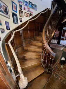 Rope Bannister DIY home decor