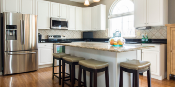 Interior Designers have compiled a list of the 10 best cabinet paint colors for a happier kitchen.
